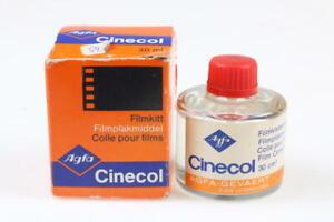 AGFA Cinecol Klebemittel für Schmalfilme (Abgelaufen) 2 Sück