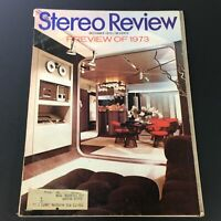 VTG Stereo Review Music Magazine December 1972 - Preview of the Year 1973