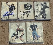 LOT OF (14) DIFFERENT SIGNED AUTOGRAPHED 1994 TED WILLIAMS CO. FOOTBALL  CARDS