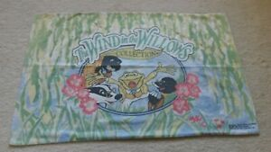 Rare Vintage 'The Wind In The Willows' Pillowcase