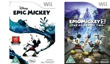 epic mickey  1+2   wii pal