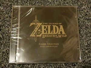 Legend of Zelda Breath Of The Wild Sound Selection / Soundtrack New & Sealed