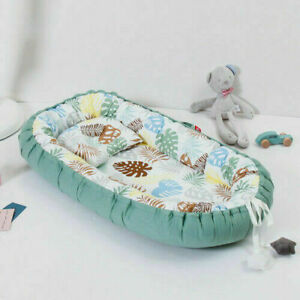 50*85cm Crib Portable Baby Nest with Pillows Washable 2020 Home Bed