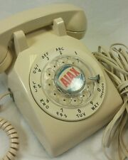 UNUSUAL LOGO VTG WESTERN ELECTRIC BELL 500 ROTARY PHONE 1953 not for sale Ajax?