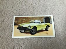 FAMOUS MG MARQUES (CARS) SET OF 14 CIGARETTE CARDS 1981 PLAYERS GRANDEE CIGARS