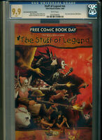 Stuff of Legend CGC 9.9 White Pages FCBD 2009 1st Appearance Disney Movie Coming