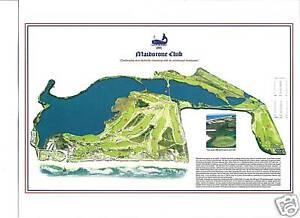 Maidstone Club - Willie Park, Jnr - 1891 Vintage Golf Course Maps print
