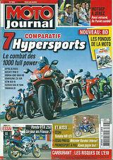 Moto journal # 1856 Honda VTR Yamaha WR 1000 RSV4 1198 CBR ZX RC8 GSX R1 Rossi