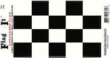 Checkered Flag - Vinyl Decal Sticker 3.5''x 5''