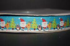 2242 Weihnachstmann mit Pinguin - 22mm Breite