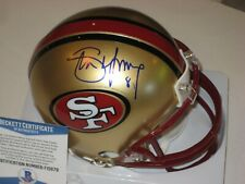 STEVE YOUNG Signed San Francisco 49ERS Mini-helmet w/ Beckett COA