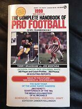 The Complete Handbook Of Pro Football 1990 Edition, Football Books Joe Montana
