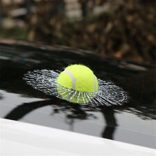 3D Funny Car Stickers Auto Car Tennis Ball Hitting Body Car Window Sticker Decal
