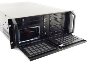 "Guanghsing GH-432SR 19 "" 4U Industrial Slot CPU Server Rack Chassis 4HE Case"