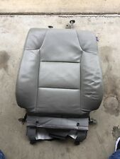 HONDA ODYSSEY 2011-2015 GENUINE LEFT FRONT SEAT BACK UPPER CUSHION LIGHT GRAY