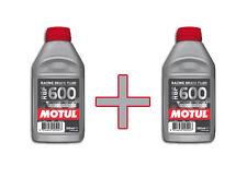 Lot liquide de Frein Motul DOT4 RBF 600 2x500ml  *Livraison Express*