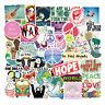 50Pcs Love n Peace Vsco Sticker Bomb Vinyl Guitar Laptop Luggage Decals Pack Lot