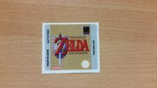 Gameboy Zelda Link's Awakening Replacement Label Decal Sticker Nintendo Precut