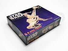 Amt Star Wars B-Wing Fighter Highly Finished Gold Tone Limited Ed. Model Kit