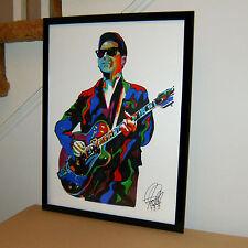Roy Orbison, The Big O, Rock&Roll, Rockabilly, Vocals, Guitar 18x24 POSTER w/COA