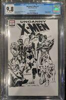 Uncanny X-Men 1 CGC 9.8 Cockrum Sketch Cover