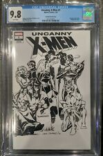 Uncanny X-Men 1 CGC 9.8 Cockrum Sketch Cover
