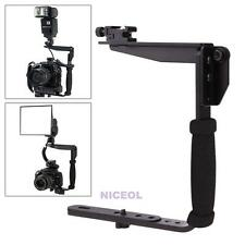 635 Camera Flash Bracket Grip Camera Flash Arm Holder Stand for Nikon Canon DSLR