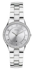 STORM LONDON Slim x Cristal Plata reloj de mujer 47189/S Análogo Acero