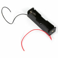 3.7V 5pcs 18650 Black Battery Storage Box Case With Wired Leads Holder G9C