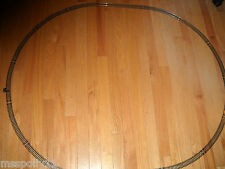 """MODEL POWER """"HO"""" SCALE STARTER SET OF OVAL TRAIN TRACK ABOUT 42"""" X 36"""" INCHES"""