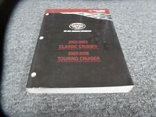 2002-2006 Victory Touring Cruiser Motorcycle Shop Service Repair Manual 2005