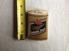 Vintage New In Pack Miller Genuine Draft Beer Can Playing Cards