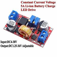 Constant Current Voltage 5A Li-ion Battery Charge LED Drive DC4-38V To 1.25-36V
