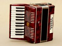 Very Nice Accordion Weltmeister 12 bass .
