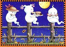 Mary Engelbreit-Ghosteses With Toasteses-Halloween Card w/Envelope-New