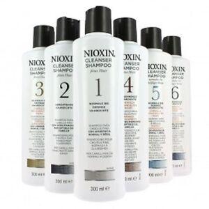 Nioxin Shampoo N°1 for Hair Purposes Normal a Clairsemes 300 ML