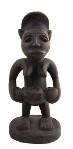 Statuetta Africana Kongo Maternità -repubblica Democratica Del Ex Zaire Arte