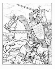 Kings and Queens of England Dover History Coloring Book