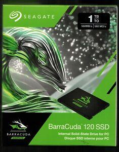 Seagate barracuda 120 SSD 1tb  ZA1000CM10003  New in Factory sealed Box.