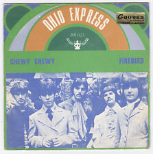 SP 45 TOURS OHIO EXPRESS  CHEWY CHEWY  BUDDAH RECORDS 201 023 en 1968  ESPAGNE