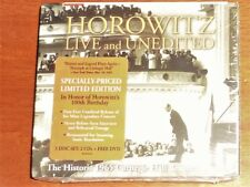 """STILL SEALED"" CD by HOROWITZ / LIVE & UNEDITED / 2 X CD plus 1 DVD"