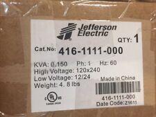 JEFFERSON ELECTRIC TRANSFORMER 416-1111-000 (NEW)