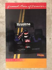 1990 Grand Prix of Denver CART Race Poster RARE!! Awesome L@@K
