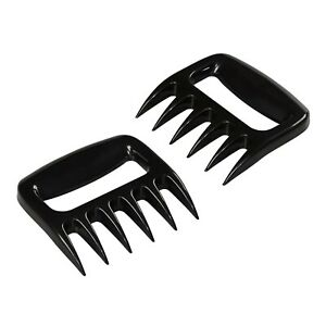 Pair of Pulled Pork Claws Shedder Beef Chicken Bear Meat Forks BBQ Grill Mesher