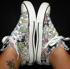 CONVERSE Roy Lichtenstein 1960s style POP ART girl phone comic sneaker shoe 5 7