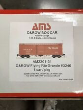 Accucraft 1:20.3  D&RGW Box Car #3083
