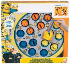 Despicable Me 3 Minions Go Bananas Catch Fish Board Rotating Catch Game Kids Toy