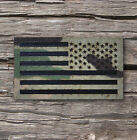 Reversed Infrared reflective Multicam IR US Flag Patch 3.5x2