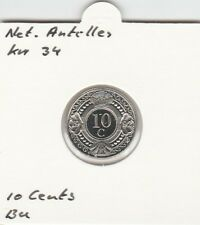 Netherlands Antilles 10 cents 1998 BU - KM34