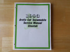 1993 Arctic Cat Cheetah Snowmobile Service Manual